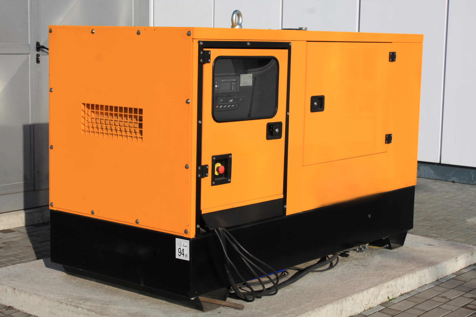 Repair Auxiliary Diesel Generator for Emergency Electric Power