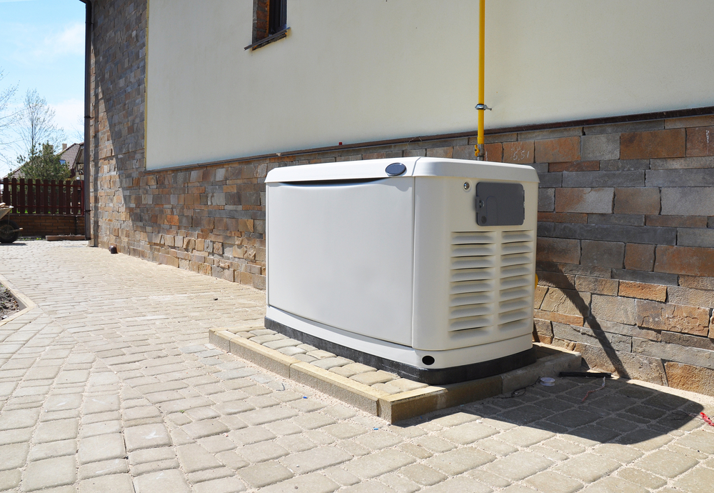 Standby Generator Outside of Home